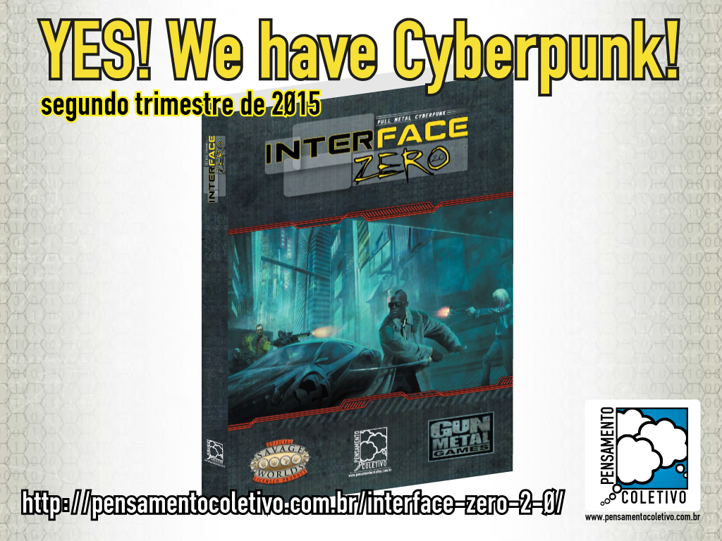 YES! We Have Cyberpunk!