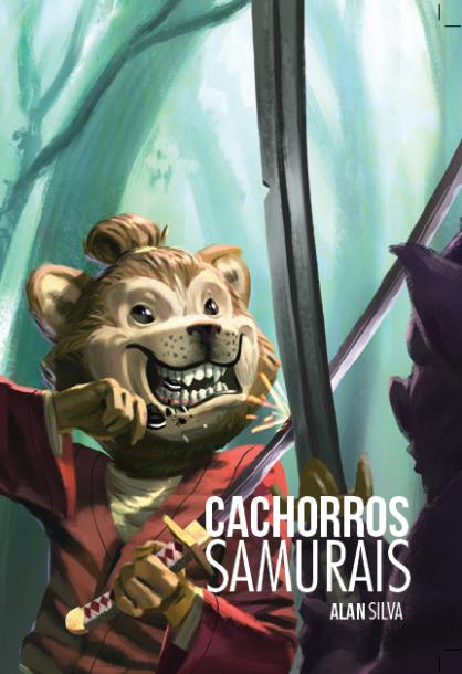 Capa do Cachorros Samurais