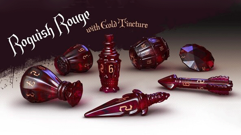 Rogue Set: Roguish Rouge